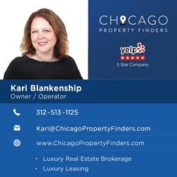 Chicago Property Finders - Kari Blankenship: Owner / Operator