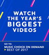 """Bruno Mars """"That's What I Like"""" Tops Music Choice Best of 2017"""