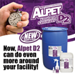 Best Sanitizers Announces New Claims and Uses for its Alpet D2 Surface Sanitizer.