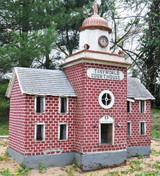 Enjoy Tiny Town, with more than 20 miniature buildings decorated for the holidays.