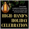 Celebrate the Season at the High-Hand Nursery 2017 Holiday Event