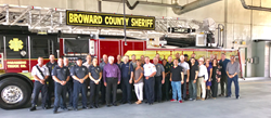 People's Trust Insurance hosts Appreciation Luncheon at Deerfield Beach Fire Rescue Station 102