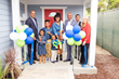 Denise Harris Homeowner, Habitat LA's 800th Home
