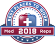 MedReps Survey Reveals Best Places to Work in Medical Sales in 2018