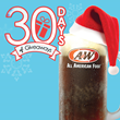 A&W launches 30 Days of Giveaways