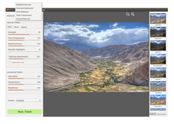 Photomatix for Linux Offers Various Adjustment Options