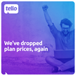 Second Price Drop in Less Than 2 Months for Tello Plans