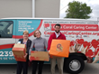 Midland IRA Holds a Food Drive and Donates Boxes of Food to the Cape Coral Caring Center