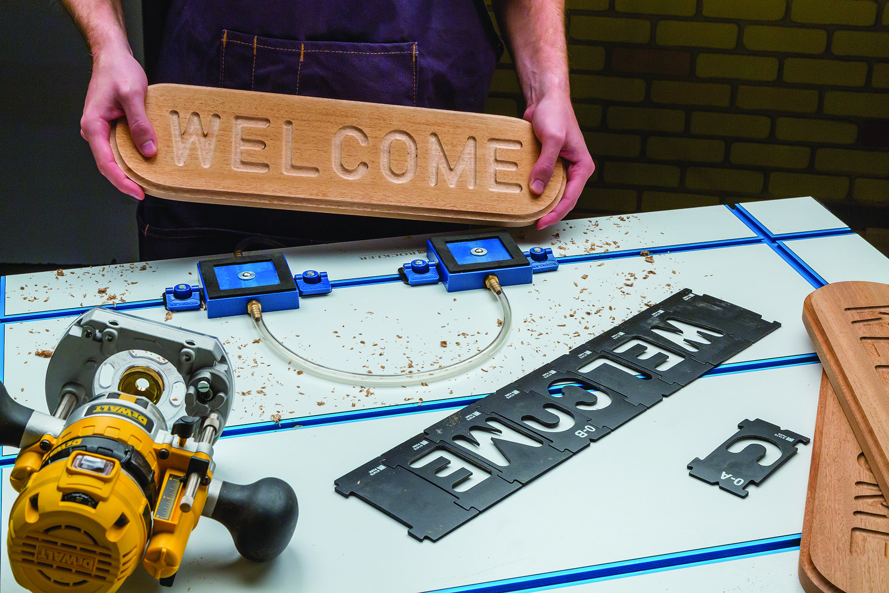 Rockler Vacuum Clamp Pod Kit Press Release
