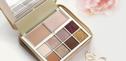 b-glowing BEAUTY Illuminate + Shine Palette at b-glowing.com. Age Embracing™ eye and face palette.