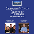 Outer Banks Real Estate Firm, Coldwell Banker Seaside Realty Announces The VanderMyde Group and Brad Beacham as Their Top Producers for November, 2017