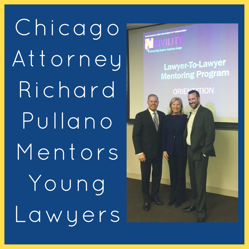 Chicago Attorney Richard L Pullano Mentors Young Lawyers