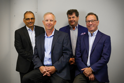 ZTR Partners, left to right: Sam Hassan, Derek Shipley, Tod Warner and Aldo Liberatore