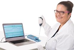 Agile R100 graphene biosensor Getting Started Kit