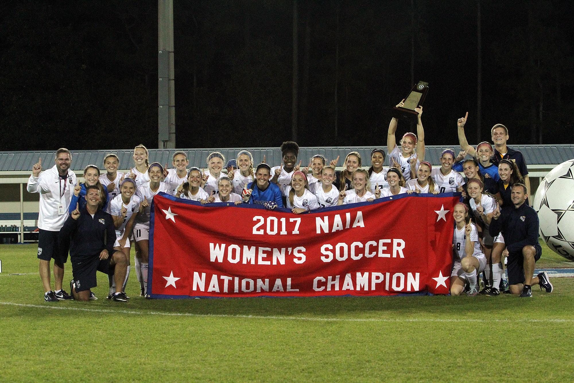 Spring Arbor Women's Soccer Wins 2017 NAIA National ...