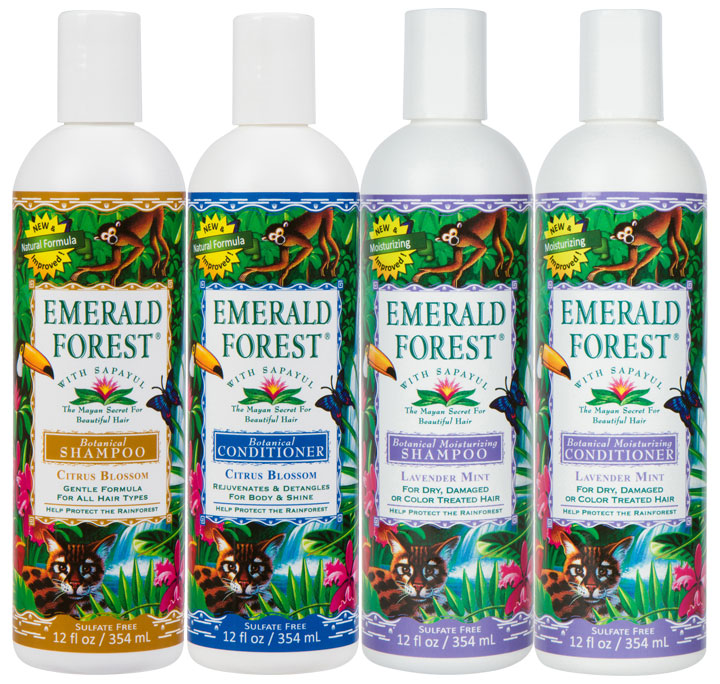 Emerald Forest Botanical Hair Care Celebrates 25 Year Anniversary