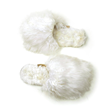 These slippers are made from the fur of alpacas located deep in a village in Southern Peru where the sale of these luxury slippers helps the economy in this local village.