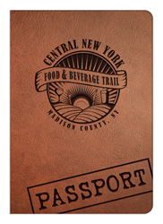 Central New York Food & Beverage Trail Passport cover