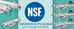 New NSF Certification for Sanitron Ultraviolet Purifier Line
