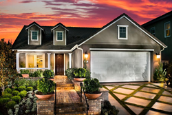 Exterior of Residence 1 built by McCaffrey Homes in the Santerra at Riverstone community in Madera, CA