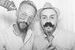 Photo booth with smoothing filter