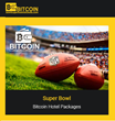 14sb.com CEO announces launch of new bitcoin accepted platform to book hotel packages for Super Bowl, FIFA World Cup, UEFA Champions League Final & other sports events.