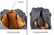 Atlas Executive Athletic Holdall — collapsable shoe compartment