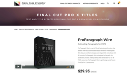 ProParagraph Wire - Pixel Film Studios - ProParagraph Wire