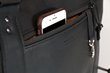 Atlas Executive Athletic Holdall  — smartphone pocket detail