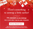 Perfect Christmas gift for Expats Worldwide: 5% OFF International Top Ups, on MobileRecharge.com