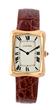 Cartier 18k Fancy Cased Wristwatch Model # 69074, estimated at $4,000-6,000.