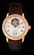 Blancpain 18k Leman Tourbillon Grande Date Wristwatch Model # 2825A, estimated at $40,000-60,000.