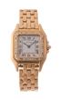 Cartier 18k Ladies Diamond Bezel Panthere Wristwatch, estimated at $4,000-6,000.