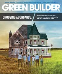 Green Builder magazine's Nov/Dec 2017 Issue