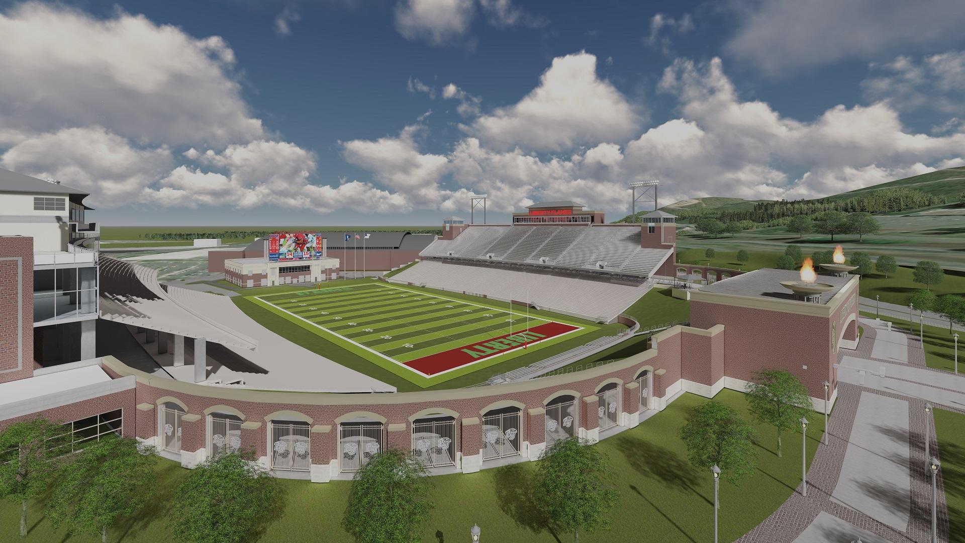 Liberty University Taps Woolpert For Williams Stadium
