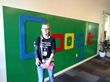 Savanna Turner, Sierra College Engineering student, visited Google with the University Innovation Fellows for training in collaboration and team building.