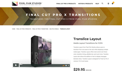 TranSlice Layout - Pixel Film Transitions - FCPX Plugins