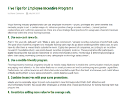 Incentive Solutions employee incentive programs