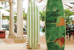 Surfboad, Branding, Beverly Hills Hotel