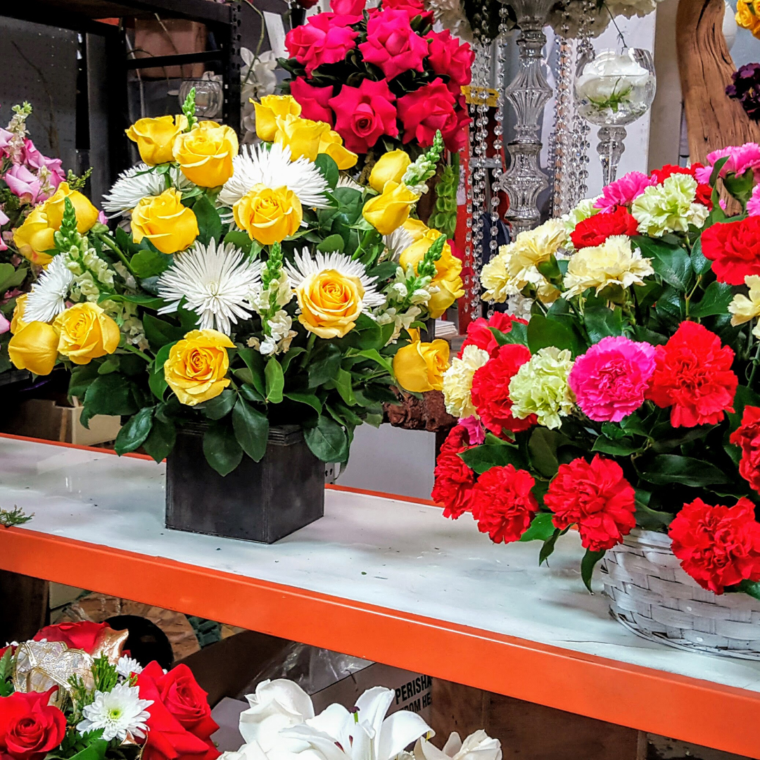 CA Flower Mall Blooms Bright with Last Minute Flowers for Virgin