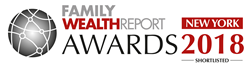 Family Wealth Report Awards, FWR Awards, New York City, New York, The Myerson Agency