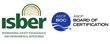 ISBER and ASCP Board of certification's logos