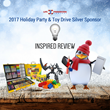 Inspired Review Supports the 2017 Life Preservers Project Holiday Benefit and Toy Drive