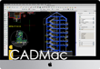 iCADMAc 2018 is a 2D/3D DWG/DXF CAD for general technical drafting on the MAC platform.