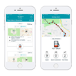 GasBuddy Trips Feature displayed in-app