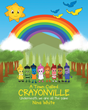 "Nina White's New Release ""A Town Called Crayonville: Underneath we are all the same"" is the Touching Story of Crayons Teaming Up to Color the Town and Make it Beautiful"