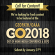 Geopath and OAAA Seeking Speakers and Presenters for GO2018 Out-of-Home Industry Conference