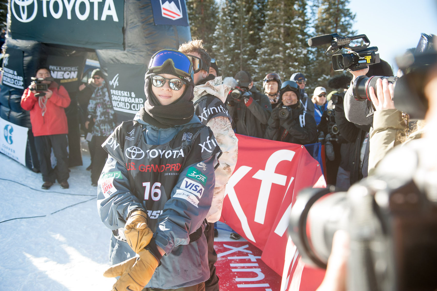 64b85ea1c628 Monster Energy s Ayumu Hirano Wins Toyota U.S. Grand Prix Halfpipe of  Snowboarding at Copper Mountain ...