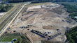 Aerial view of construction for Big Rivers