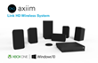 Axiim Delivers World's First Wireless Home Theater Solution For Xbox One And Windows 10 PCs Will Showcase at CES in Las Vegas